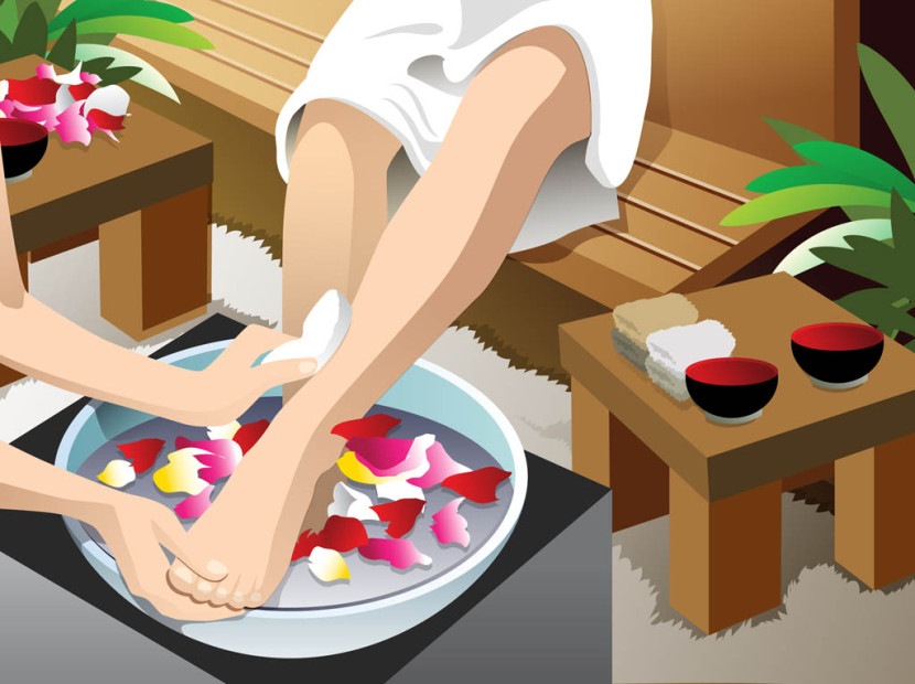Girls Beauty Pedicure Pedi Gr - Pedicure Clip Art