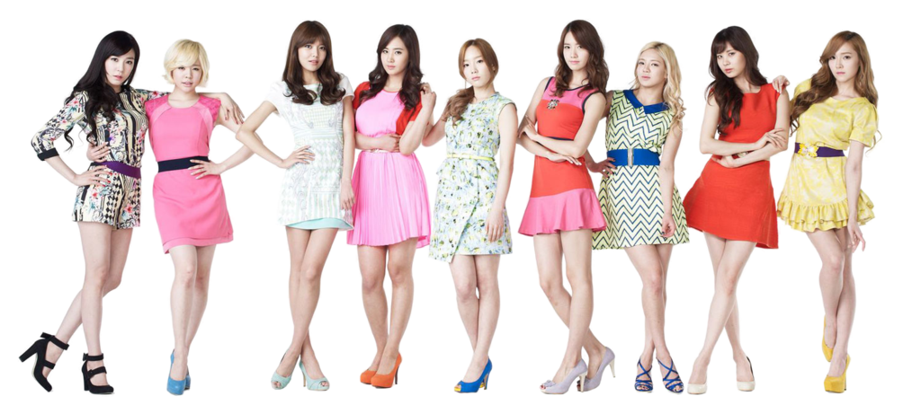Download PNG image - Snsd Clipart 409
