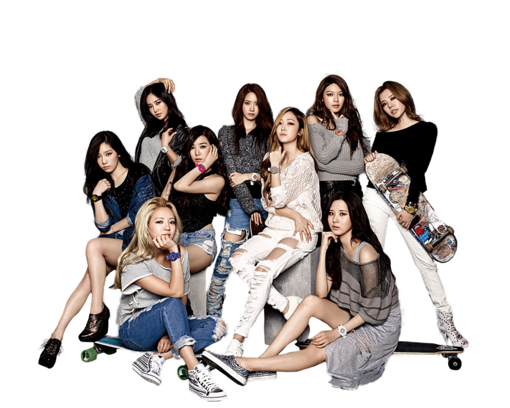 Girlsu0027 Generation [SNSD] PNG by MarieButera ClipartLook.com