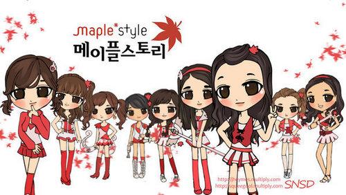Girls Generation/SNSD wallpaper called chibi