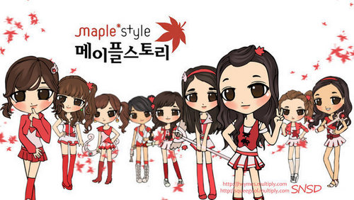 Girls Generation/SNSD Wallpaper Called C-Girls Generation/SNSD wallpaper called chibi-11