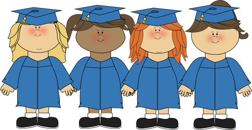 Girls Graduating Clip Art - Girls Graduating Image. Pictures Of Caps And Gowns ...