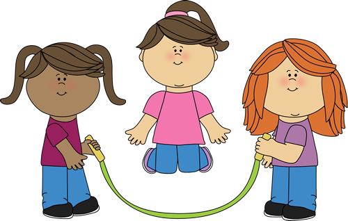 Girls Jumping Rope-Girls Jumping Rope-4