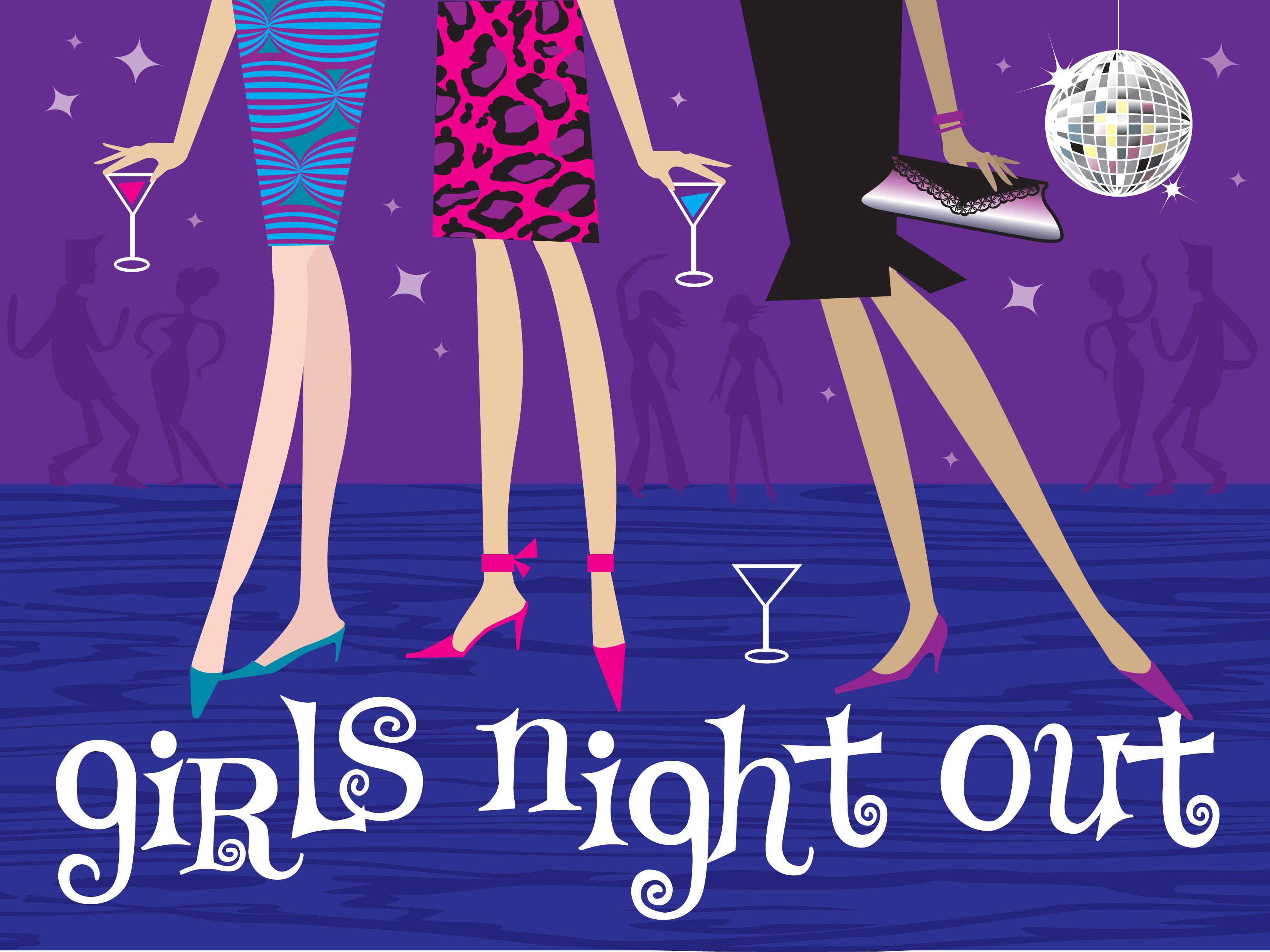 Girls Night Arrives At Bay .-Girls Night Arrives At Bay .-1