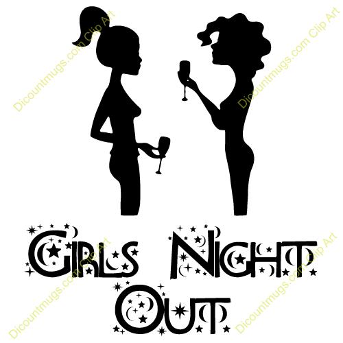 Girls Night Clipart #1-Girls Night Clipart #1-8