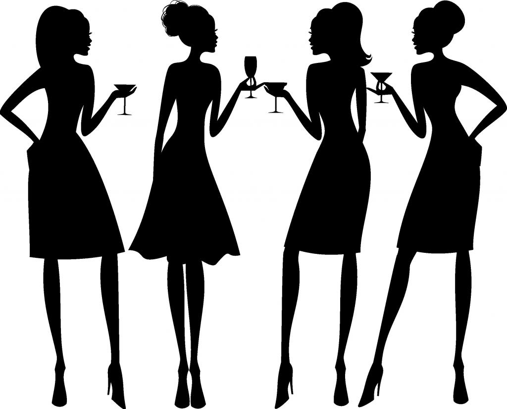... Girls Night Out Clipart ...