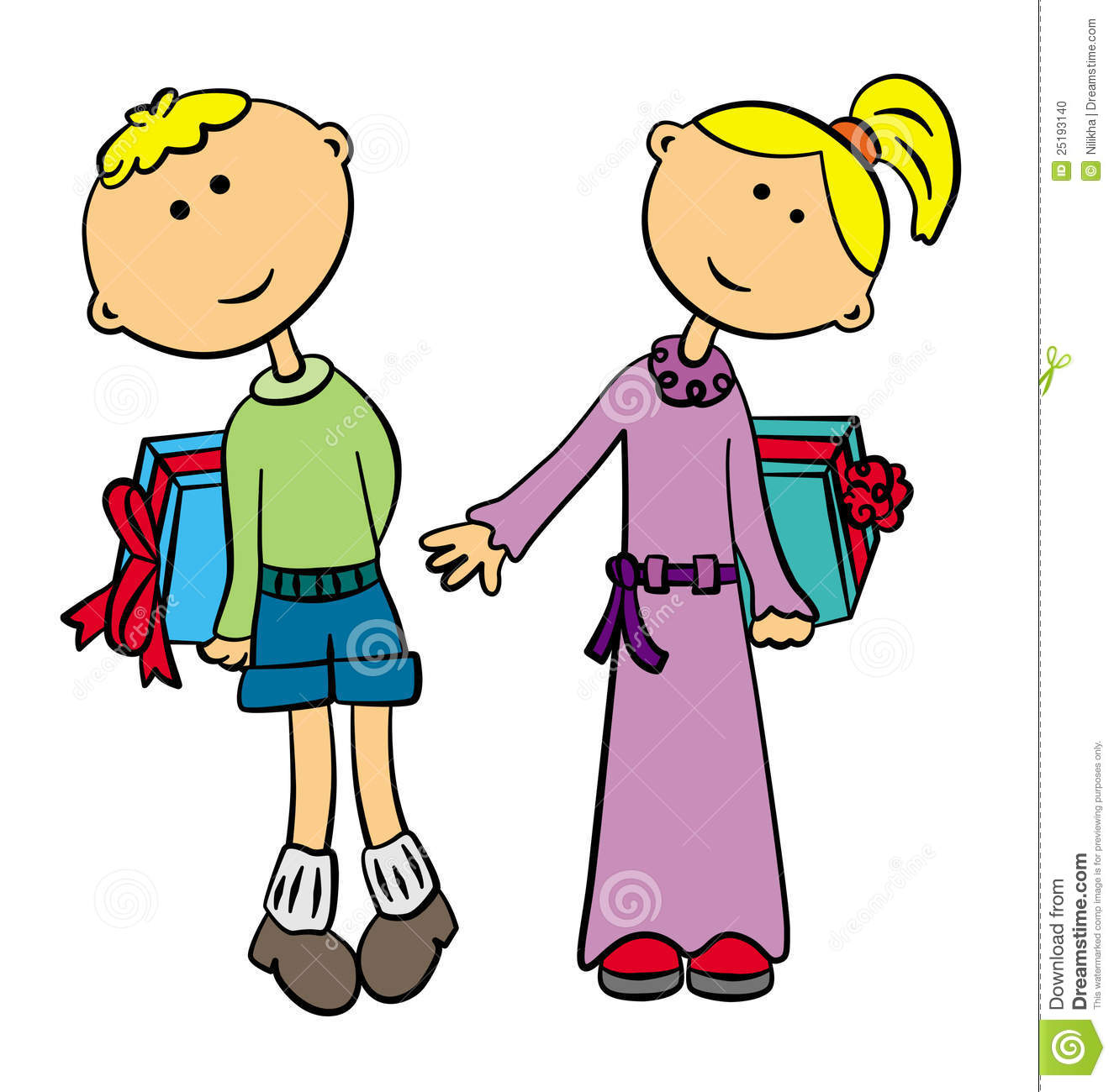 Giving A Gift Clipart Cliparthut Free Clipart