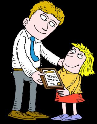 Giving Certificate Clip Art