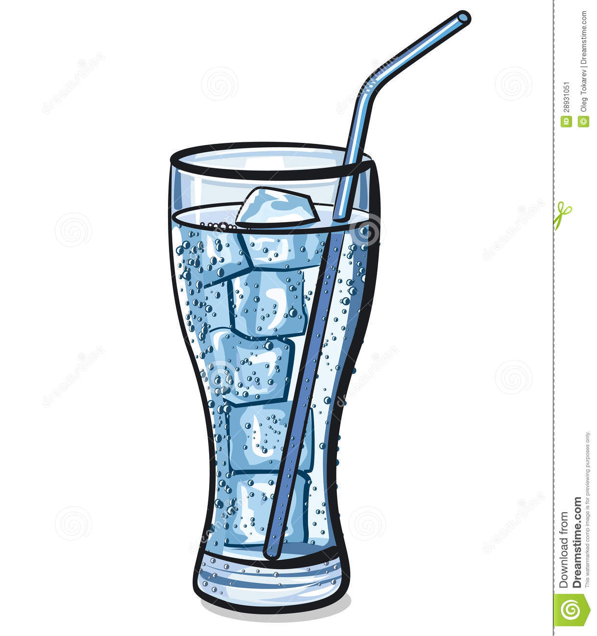 glass of water clipart