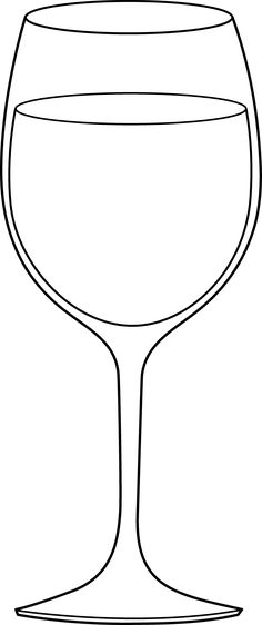 Art and Wine Clip Art | Pics Photos - Glass White Wine Clip Art