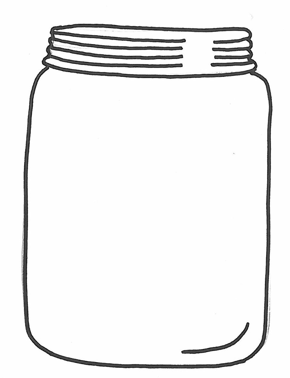 Glass Jar Clipart Costume Party And Jar Full Of