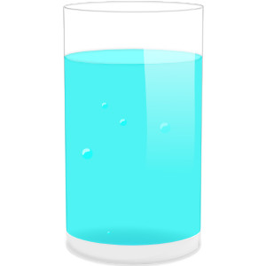 Glass Of Water clip art .