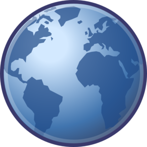 Globe clip art at vector clip art free 4