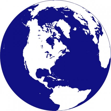 globe clip art free vector .