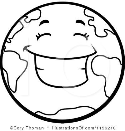 Globe Clipart Black And White Clipart Panda Free Clipart Images