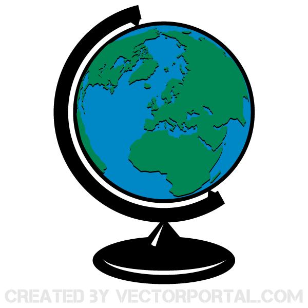 Globe clipart - ClipartFest