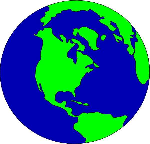 Globe clipart free clipart images