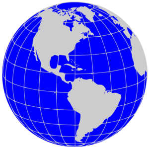 Globe Clipart Image #8661 - Globe Clipart