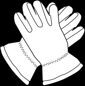 Gloves Outline Clip Art At Clker Com Vec-Gloves Outline Clip Art At Clker Com Vector Clip Art Online Royalty-15