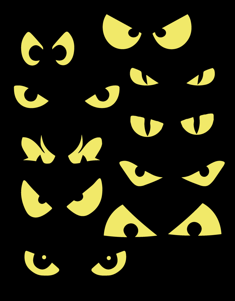 Halloween Clip Art Spooky Eye