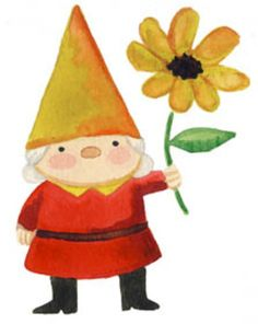 Gnome Clip Art And Name Tags-Gnome Clip Art and Name Tags-10