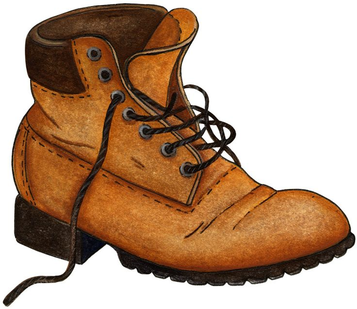 Go Back Gallery For Work Boots Clipart