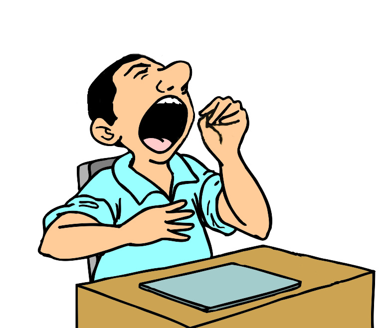 Go Back Gallery For Yawning Clipart