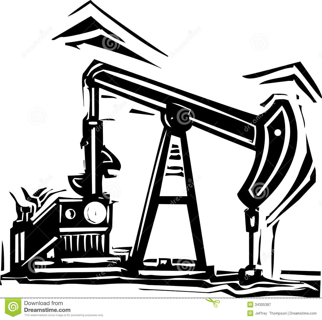Go Back Images For Oil Well Gusher Clipart