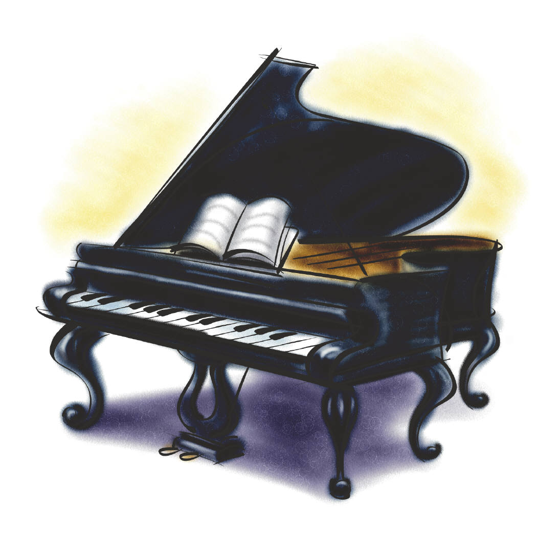 Go Back Images For Pianist Clipart