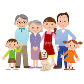 Go Back Pix For Big Family Cl - Big Family Clipart