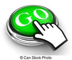 ... Go Green Button And Pointer Hand - G-... go green button and pointer hand - go green button and... ...-11