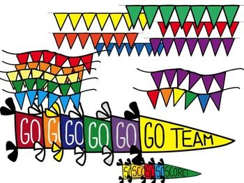 Go Team Clipart Go Team Score P B And J Clip Art Clip Art