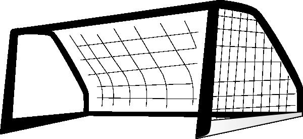 Goal Post Enlarged black clip art - vector clip art online