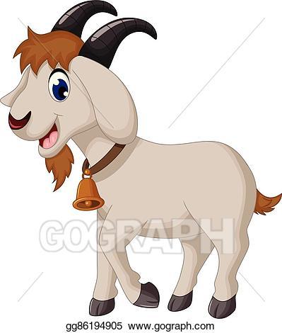 Cartoon Goat-Cartoon goat-1