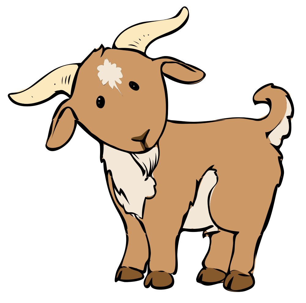 Goat clipart clipart cliparts - Goat Clip Art