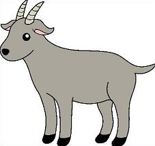 Free Goat Clipart-Free goat clipart-8
