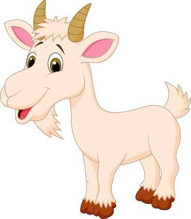 Goat Cartoon Character Illustration-Goat cartoon character Illustration-10