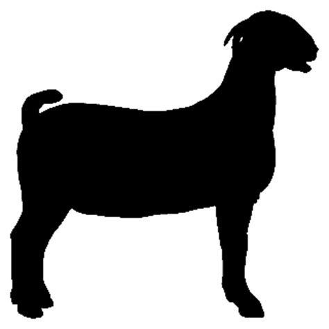 Image result for nubian milk goat silhouette goat Clipart