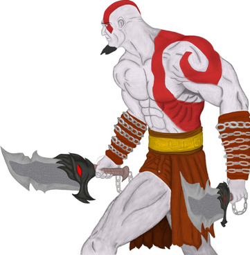 God Of War Paintingpsd-god of war paintingpsd-20