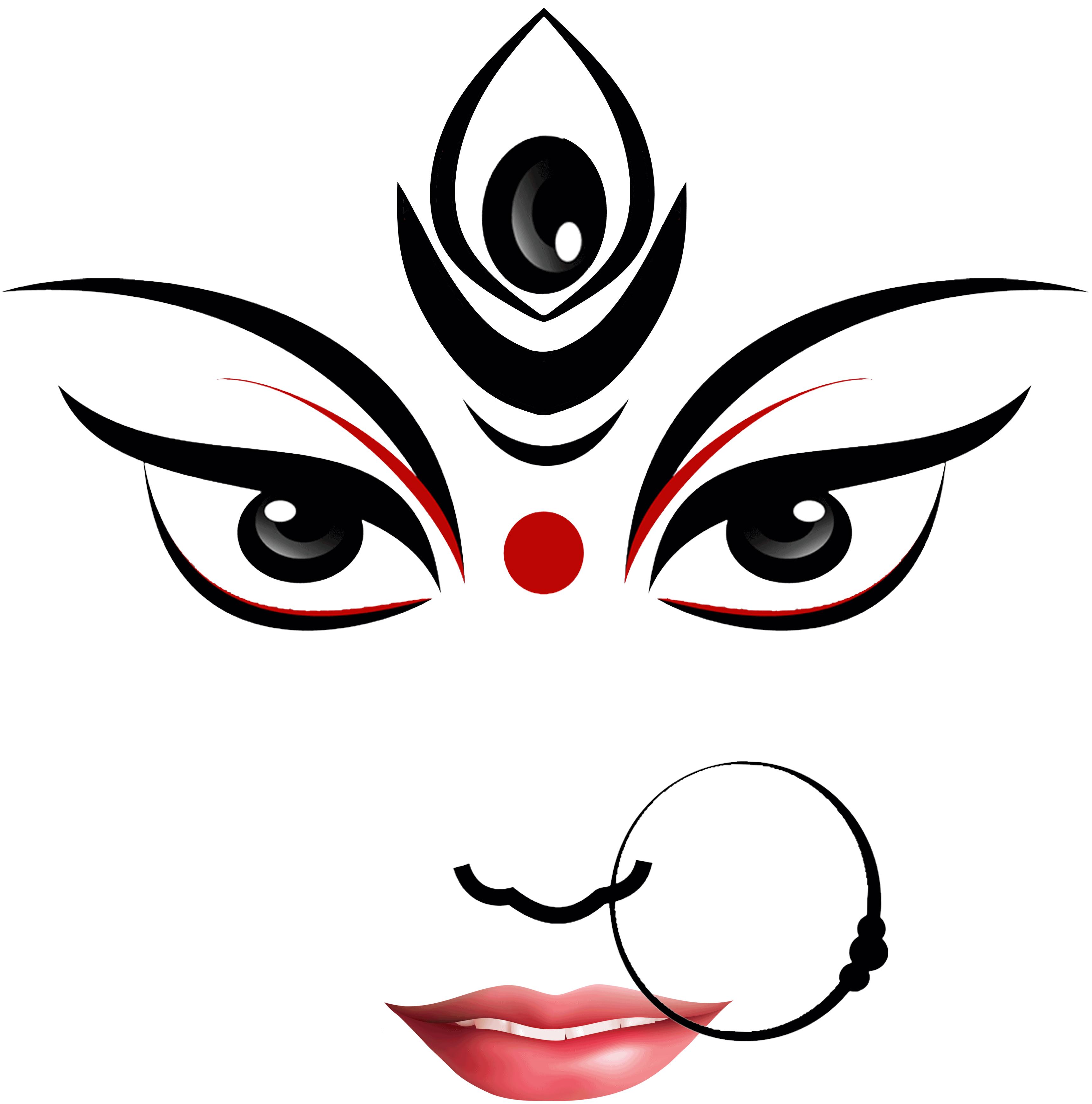 Goddess Durga Maa Clipart-Clipartlook.com-3439
