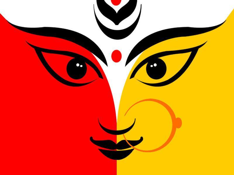 Durga: The Three-Eyed Indian Deity (Imag-Durga: The Three-Eyed Indian Deity (Image: Img00.deviantart clipartlook.com-21