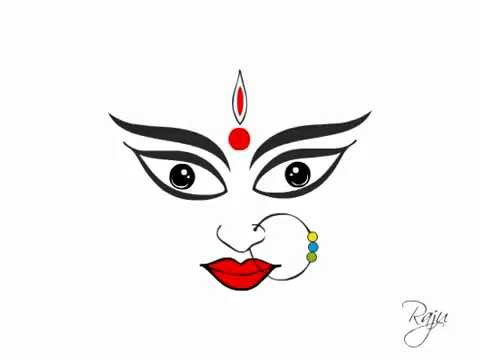 Goddess durga animation in flash