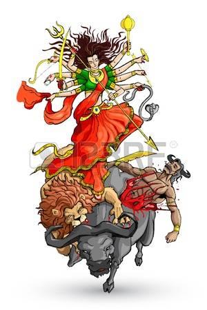 Goddess Durga Royalty Free Cliparts, Vec-Goddess Durga Royalty Free Cliparts, Vectors, And Stock Illustration. Image  14892456.-1