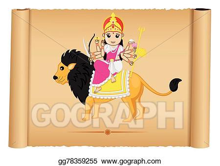 Hindu Goddess Maa Durga