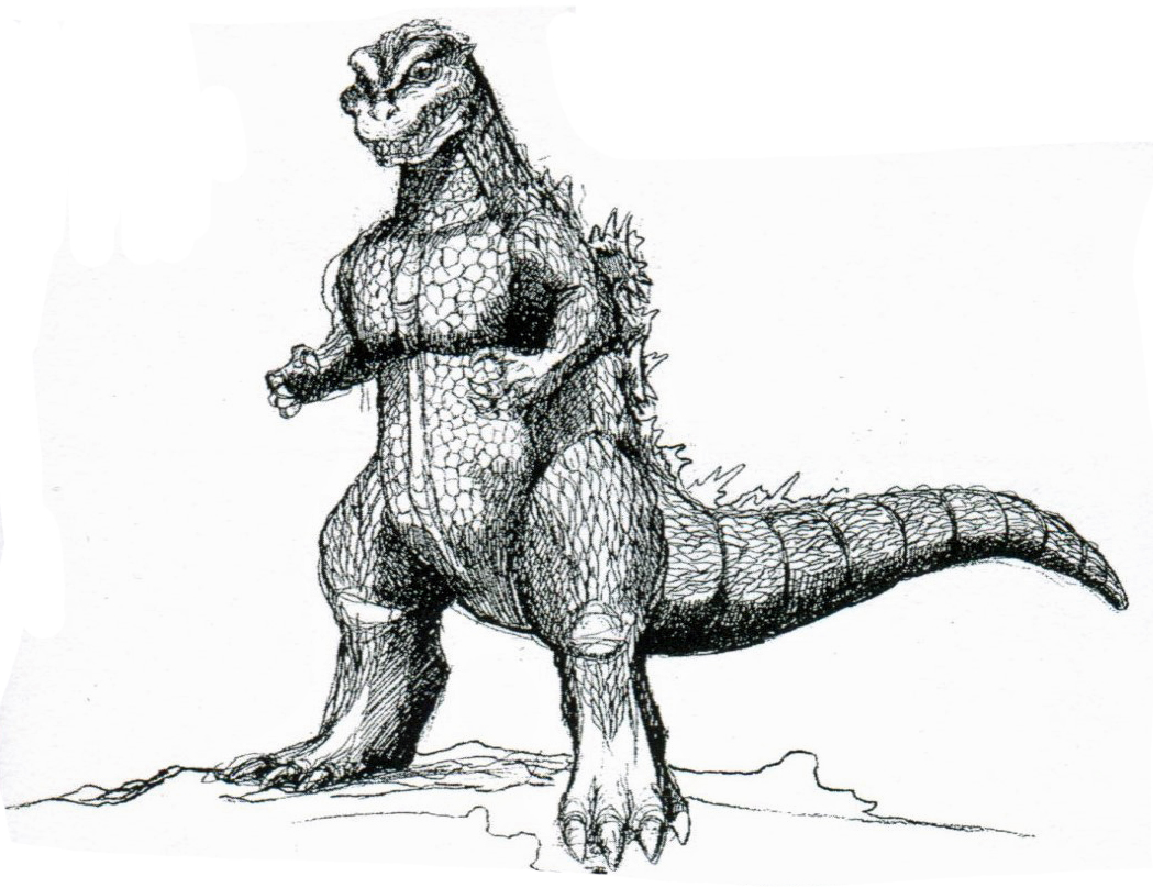 ... Godzilla Clip Art ...