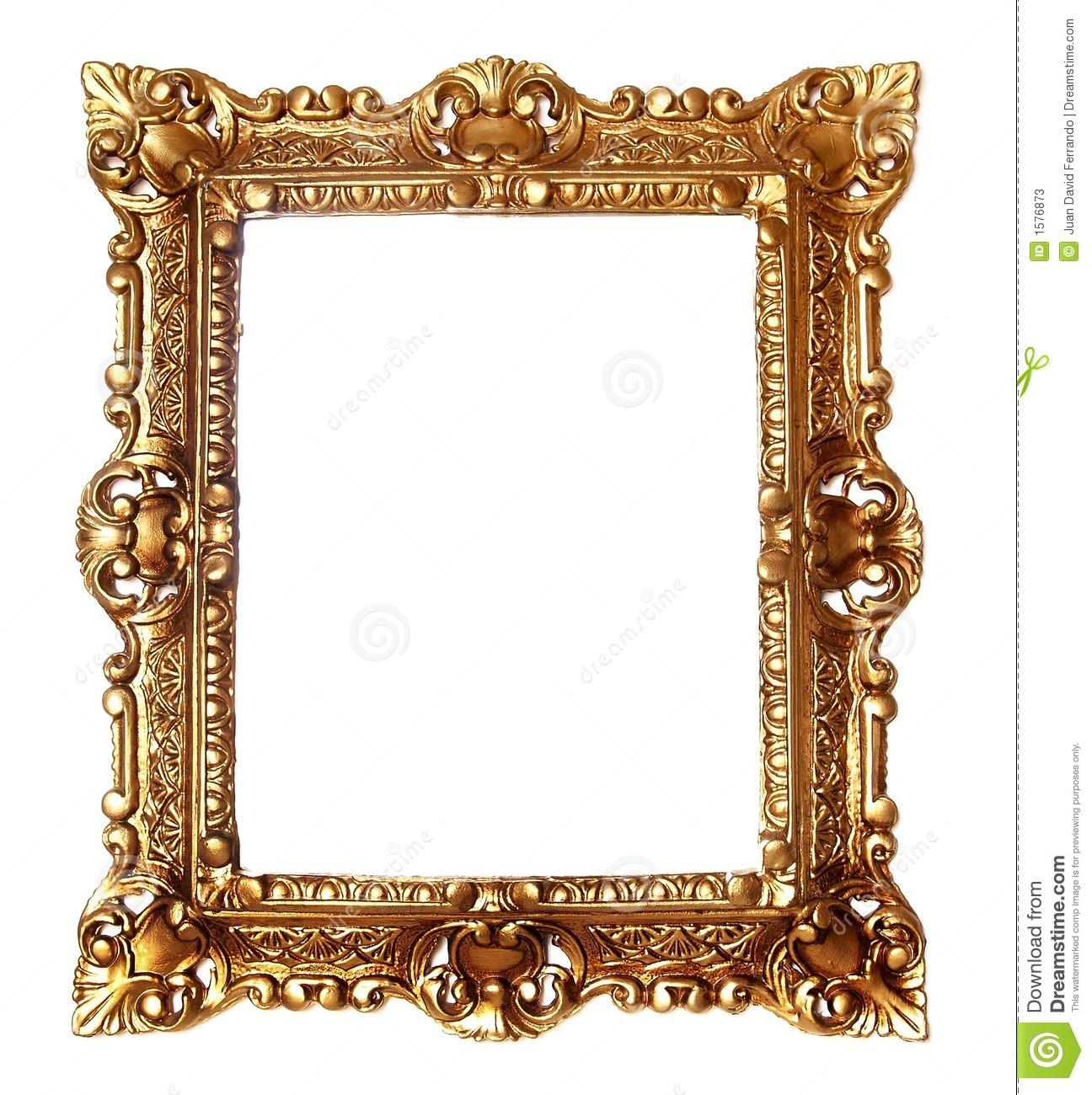 gold frame clip art