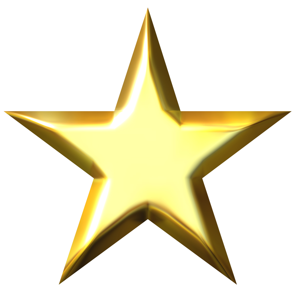 Gold Star Clipart No Background-gold star clipart no background-5