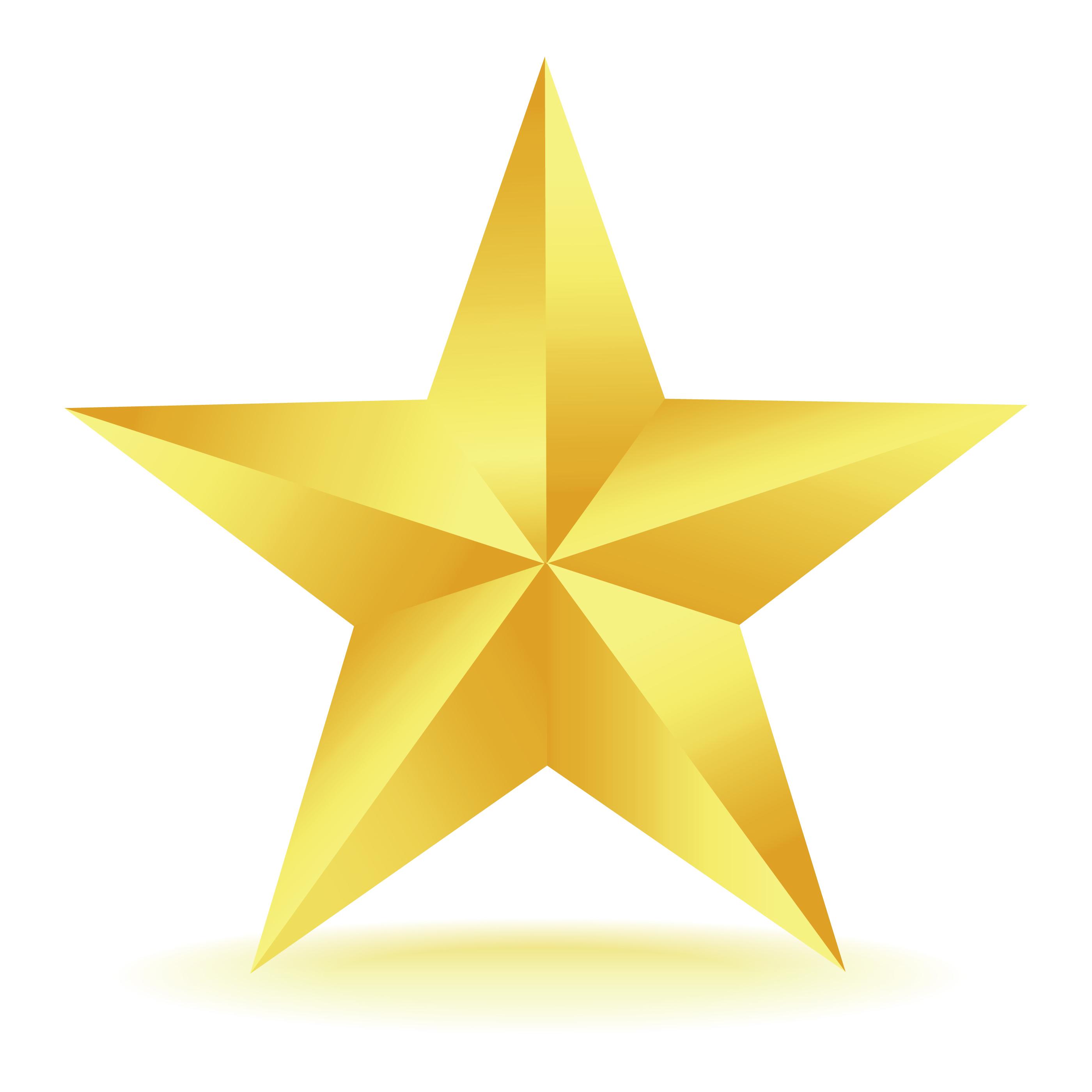 gold star clipart-gold star clipart-10