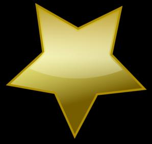gold star clipart - Gold Star Clipart