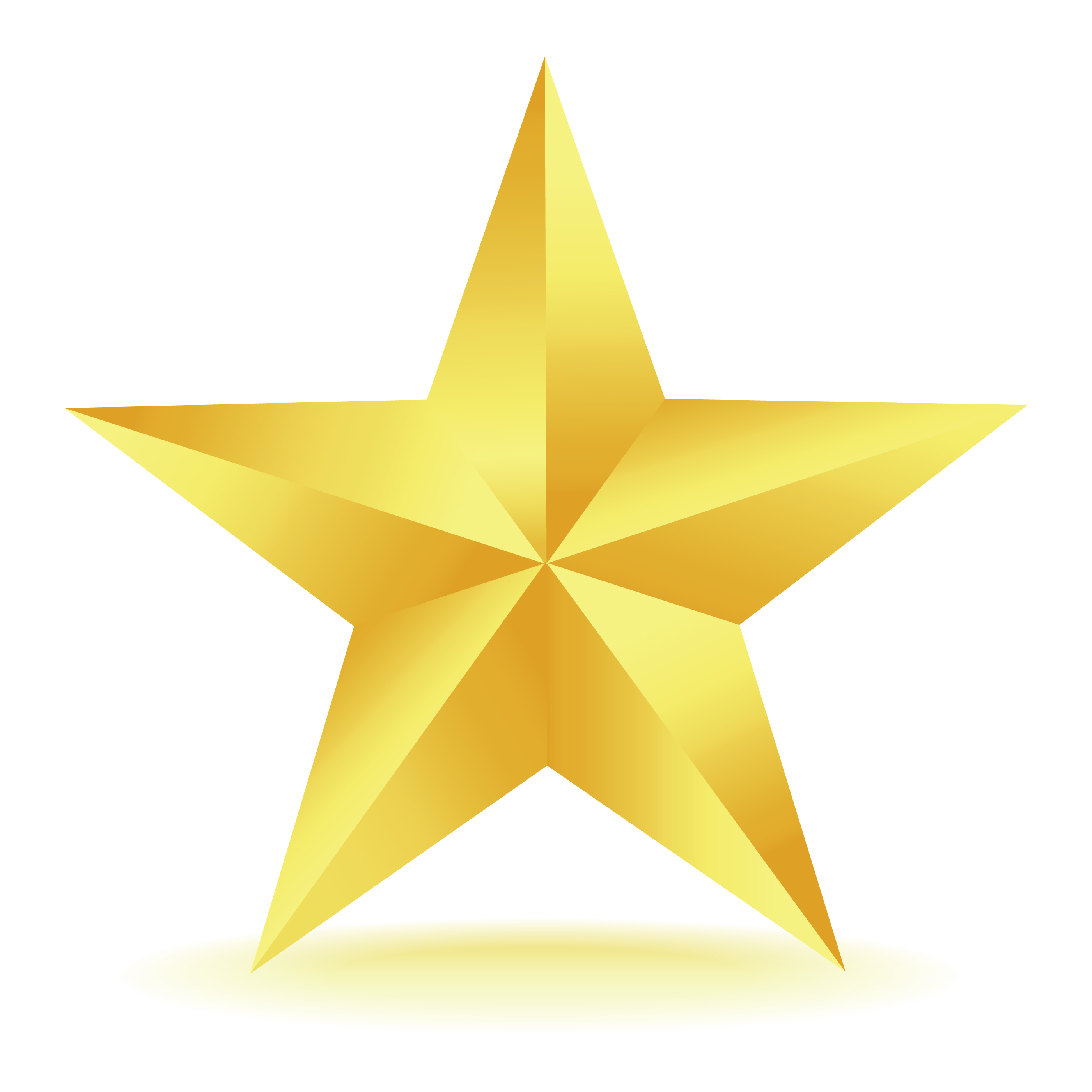 Gold Star Clipart-gold star clipart-6